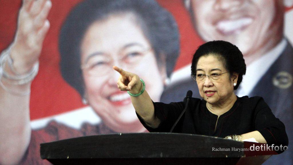 Megawati Minta PDIP Hati-hati Revisi UU KPK