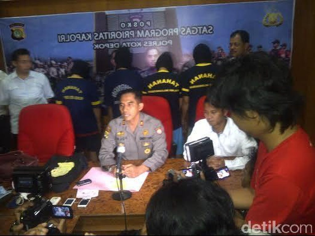 Polisi Tangkap Pencopet di KRL dan Penjahat Jalanan