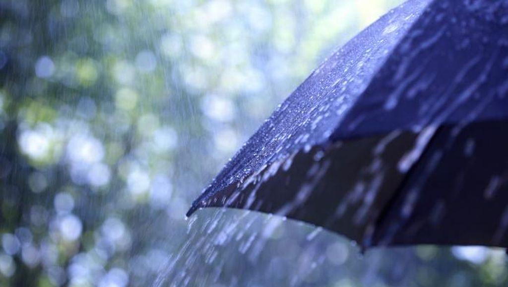 Sebagian Wilayah Jakarta Diguyur Hujan Pagi ini