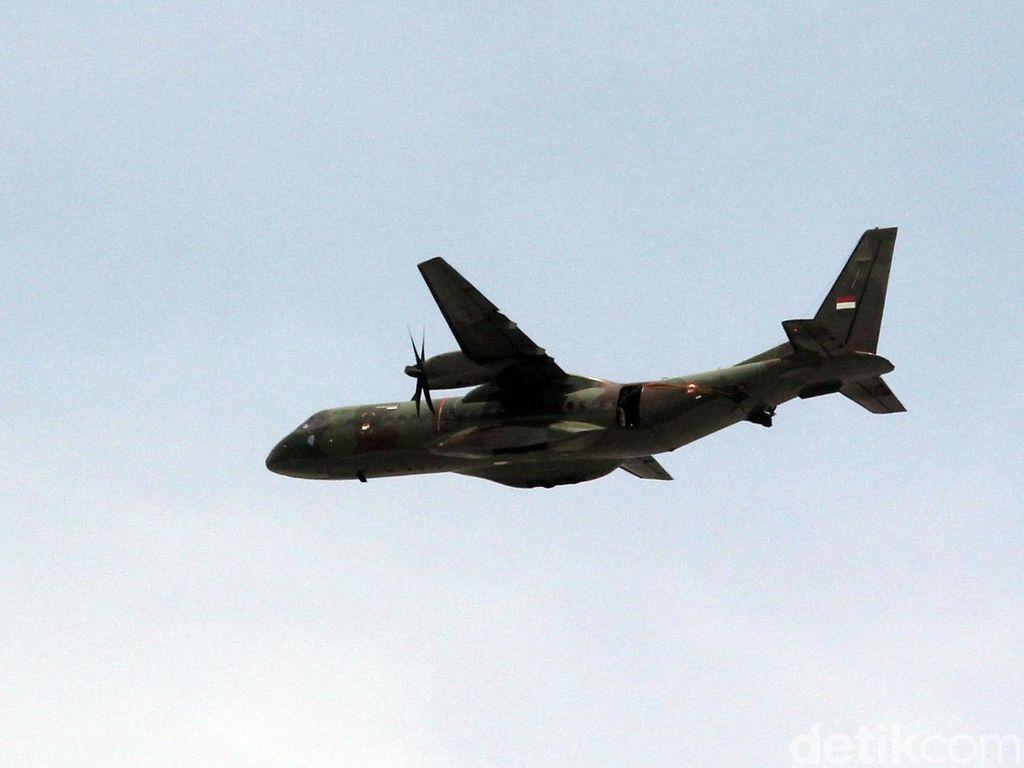 TNI AU Sebut Pesawat Hercules yang Jatuh Bisa Angkut 120 Penumpang