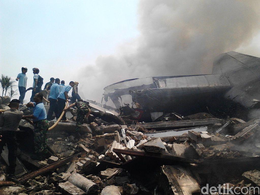 Kapolda Sumut: Pesawat Hercules Bawa 50 Penumpang