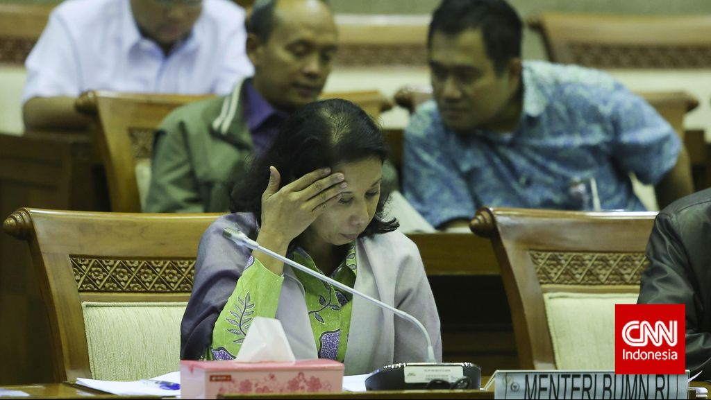 Menteri Rini: Kalau Sudah Waktunya Saya Diganti, Saya Tetap Bersyukur