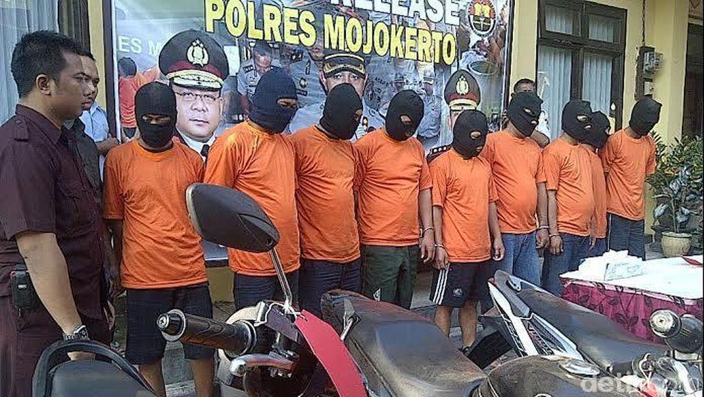 Komplotan Debt Collector Palsu di Mojokerto Dibekuk Polisi