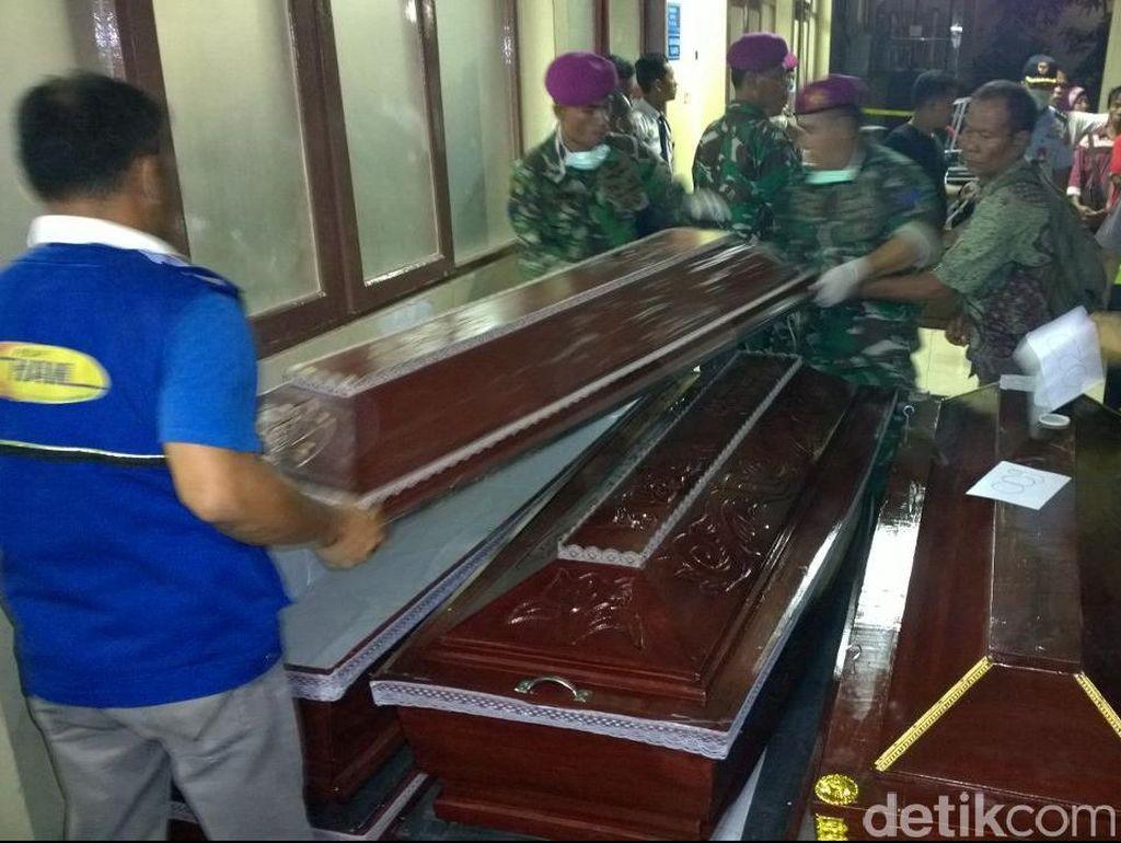 Sudah 4 Jenazah Telah Dibawa ke Lanud Soewondo Medan