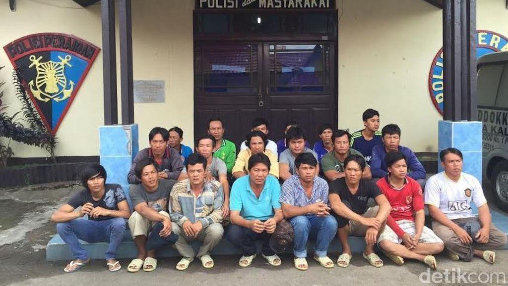 Curi Ikan di Laut Natuna, 2 Kapal Vietnam Disergap Dit Pol Air Polri