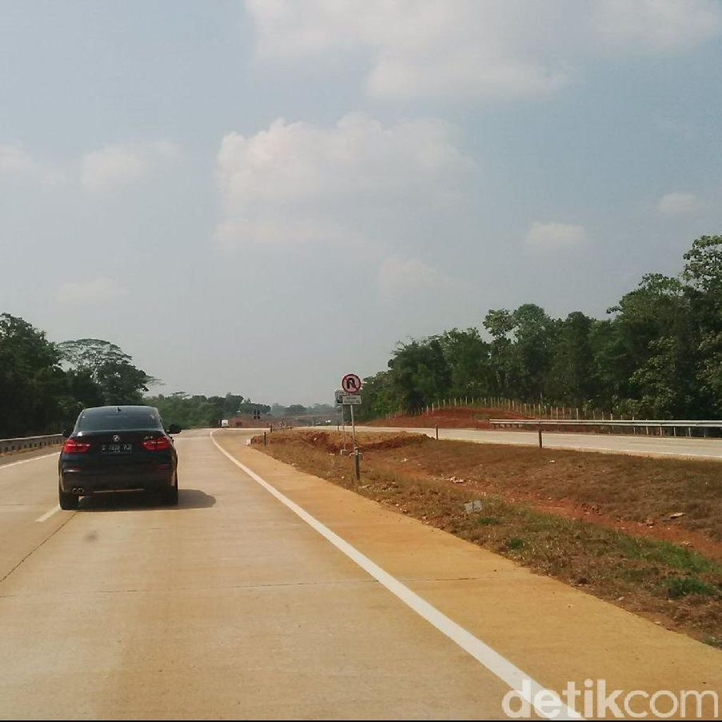 Hati-hati, Median Jalan di Tol Cipali Masih Berupa Parit