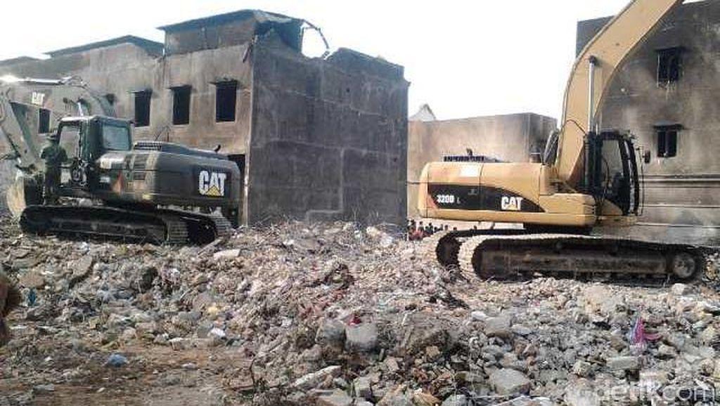 Lokasi Jatuhnya Hercules di Medan Selesai Dibersihkan