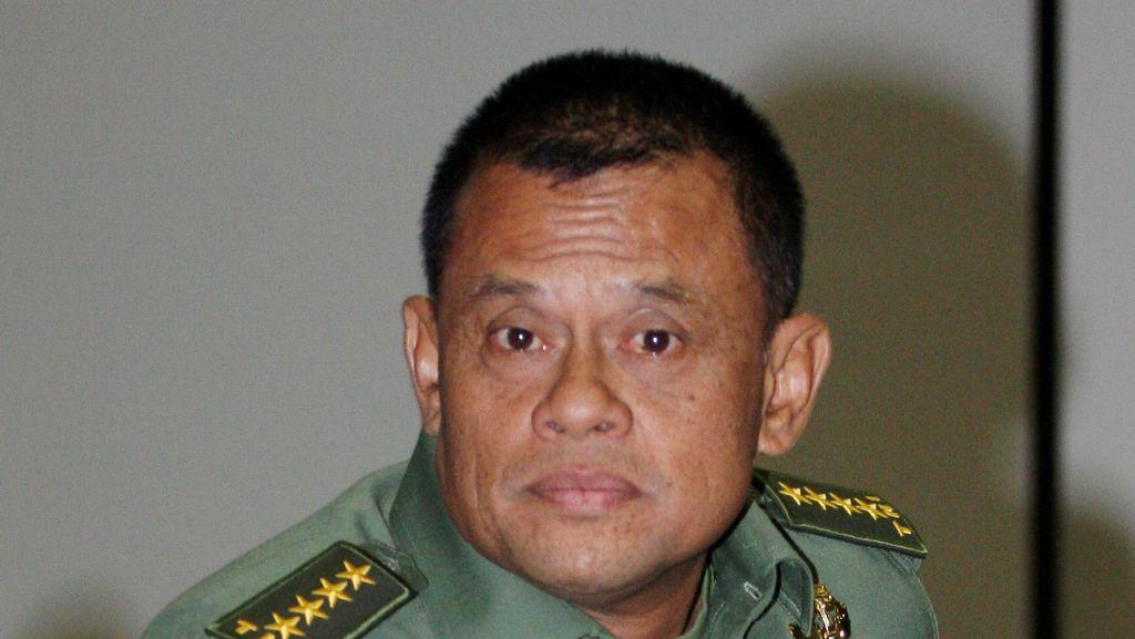 Jenderal Gatot Laporkan Hasil Uji Kelayakan Sebagai Panglima ke Jokowi