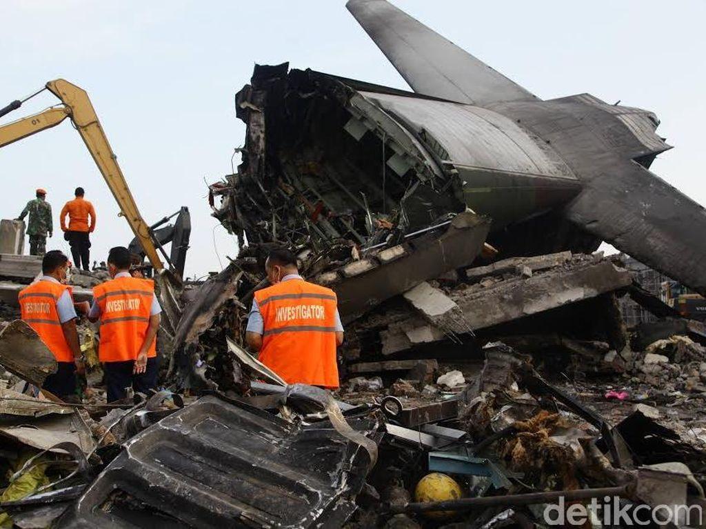 Kecelakaan Hercules Medan di Antara Tragedi Pesawat Terdahsyat di Indonesia
