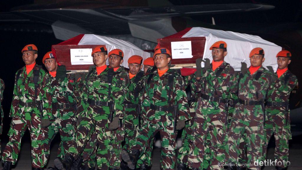 Cuaca Buruk, 12 Jenazah Korban Jatuhnya Hercules Batal Diterbangkan dari Medan