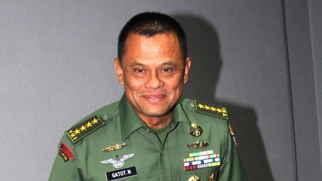 Gatot: Calon Wakil Panglima TNI Sudah Ada, Bukan dari AD