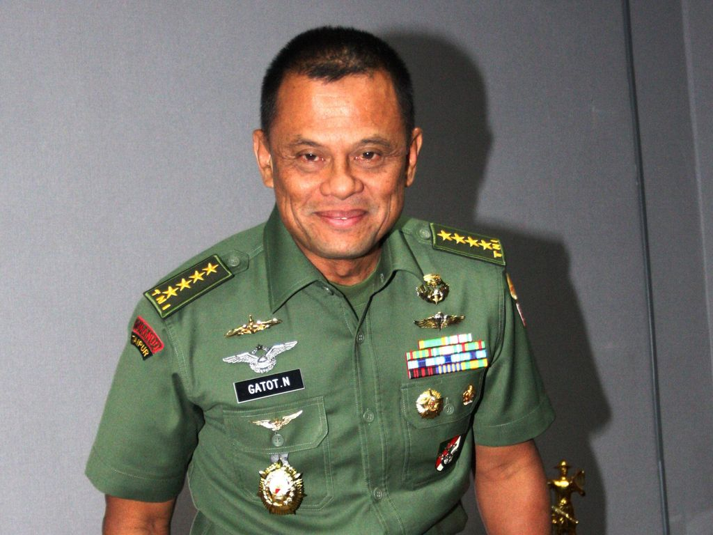 Besok Dilantik Jadi Panglima TNI, Ini Kata Jenderal Gatot
