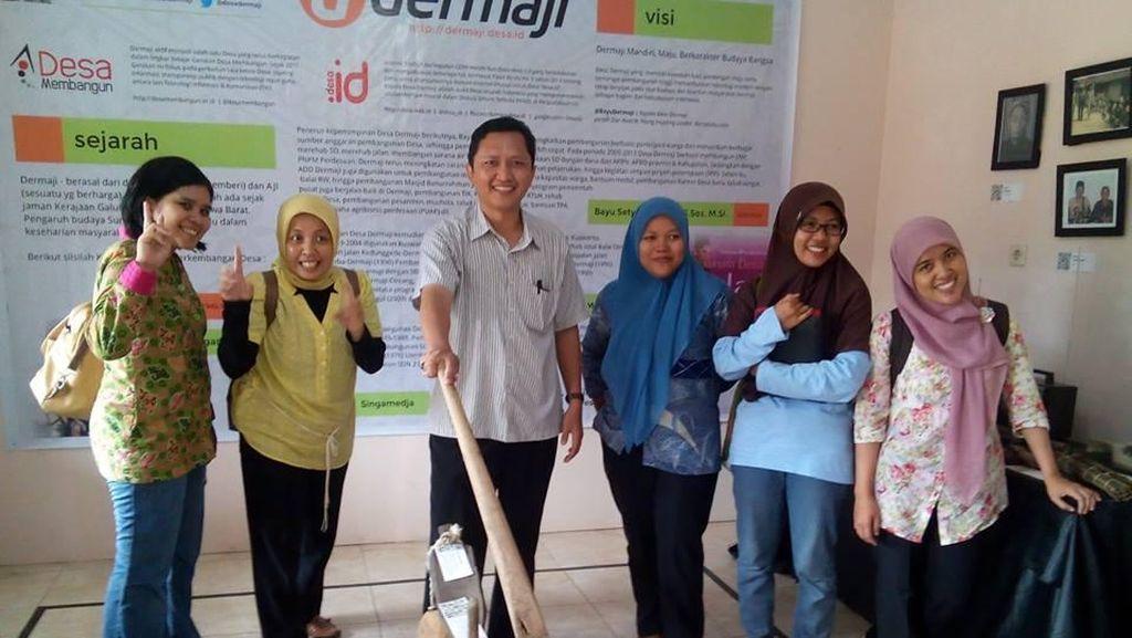 Kades Bayu Setyo Nugroho dan Gerakan Desa Membangun yang Informatif