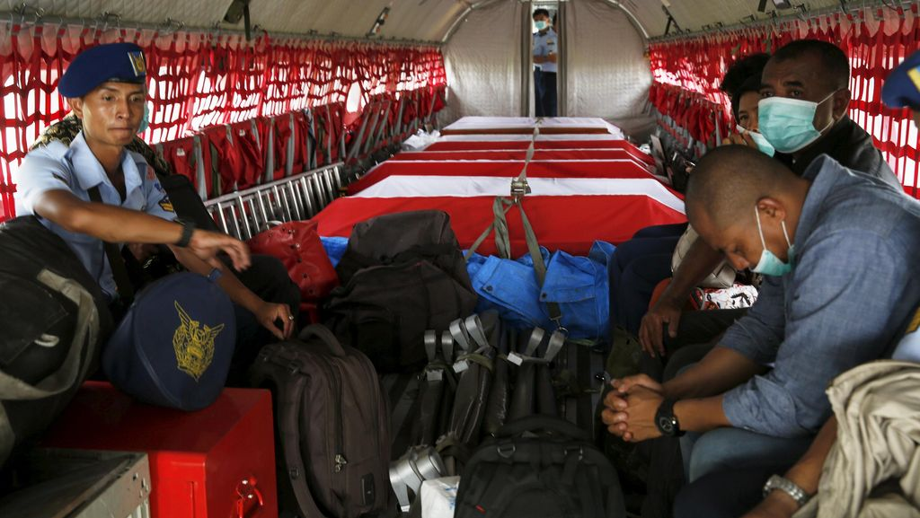 96 Jenazah Korban Hercules Jatuh Berhasil Diidentifikasi
