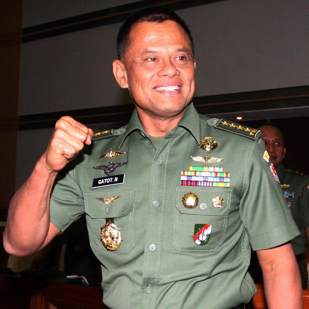 Jenderal Gatot: Saya Jadi Panglima TNI Bukan Cari Popularitas
