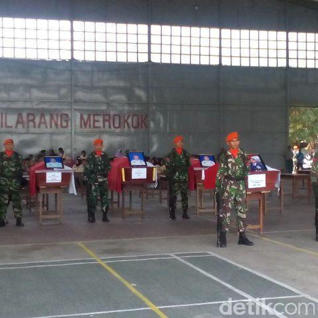 8 Jenazah Korban Hercules akan Dikirim ke Lanud Adisutjipto Yogyakarta