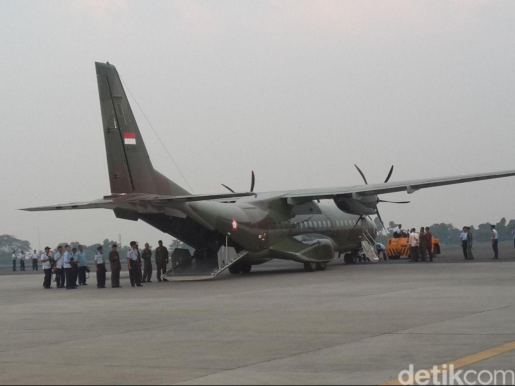 Kloter Kedua Pesawat Tiba di Halim, Bawa 7 Jenazah Korban Hercules