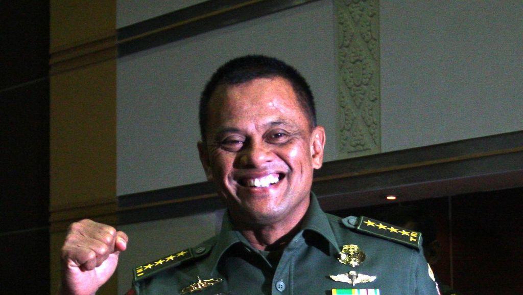 DPR Juga Setuju Jenderal Gatot Nurmantyo Jadi Panglima TNI