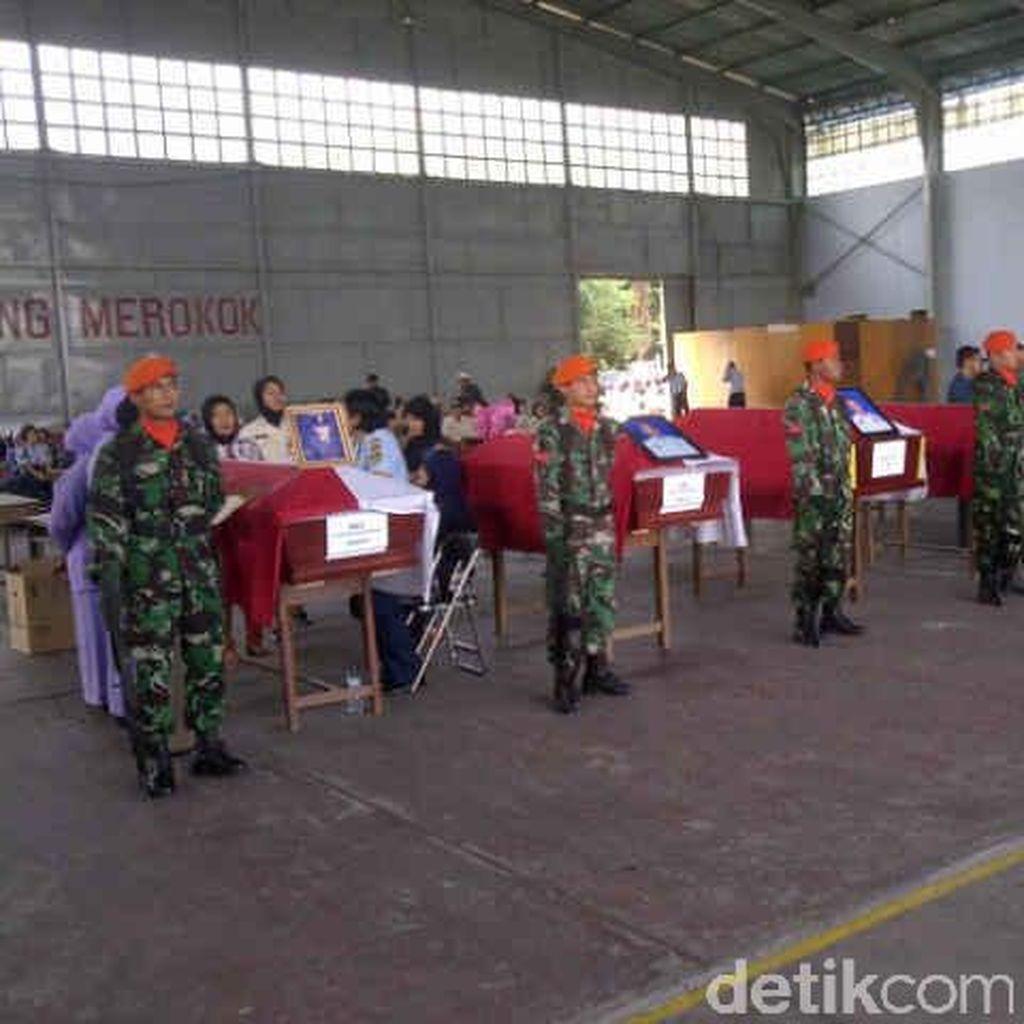 6 Jenazah Siap Diberangkatkan dari Lanud Soewondo