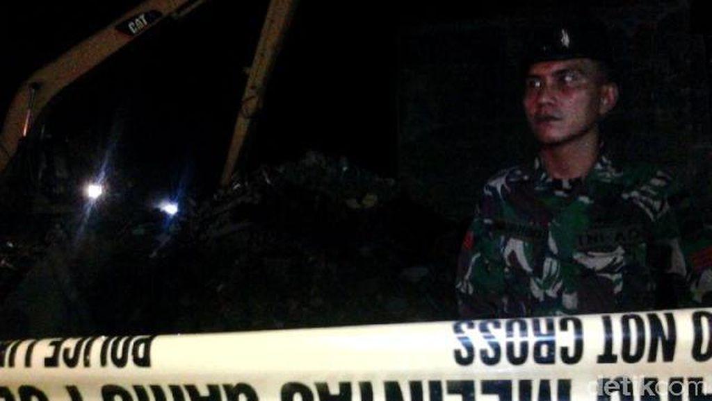 Jalan Djamin Ginting Dibuka, Evakuasi Dilanjutkan Besok