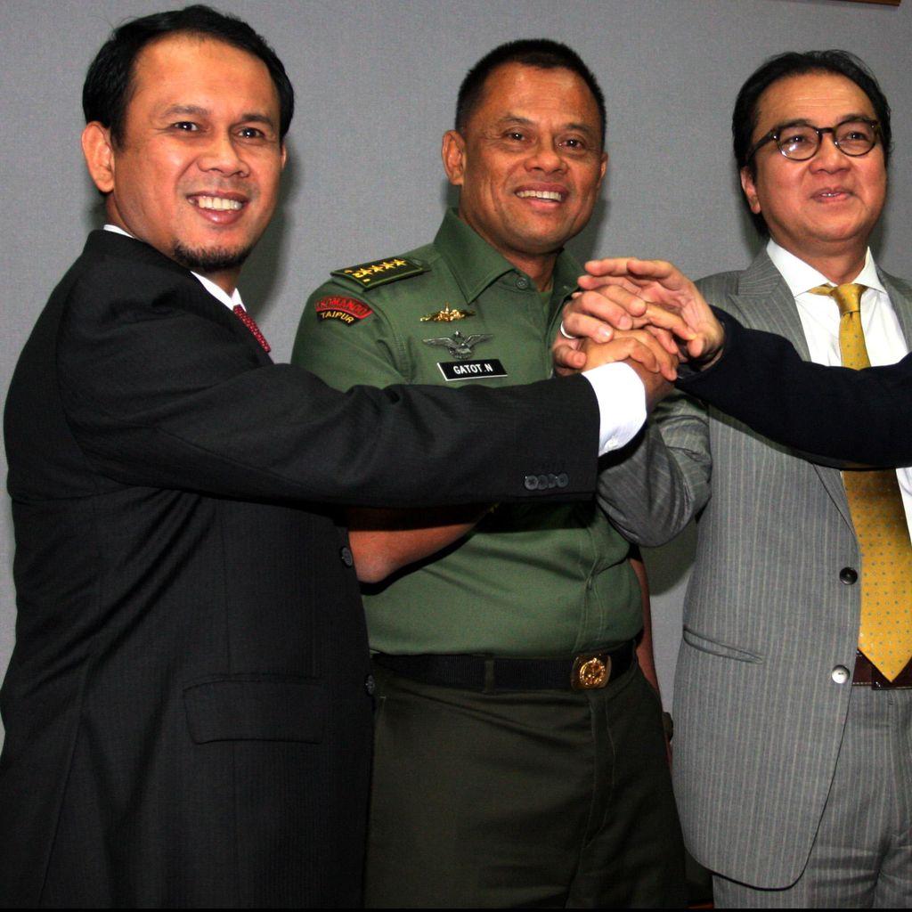 Calon Panglima TNI Gatot: Tak Perlu Tambah Personel Jaga Perbatasan