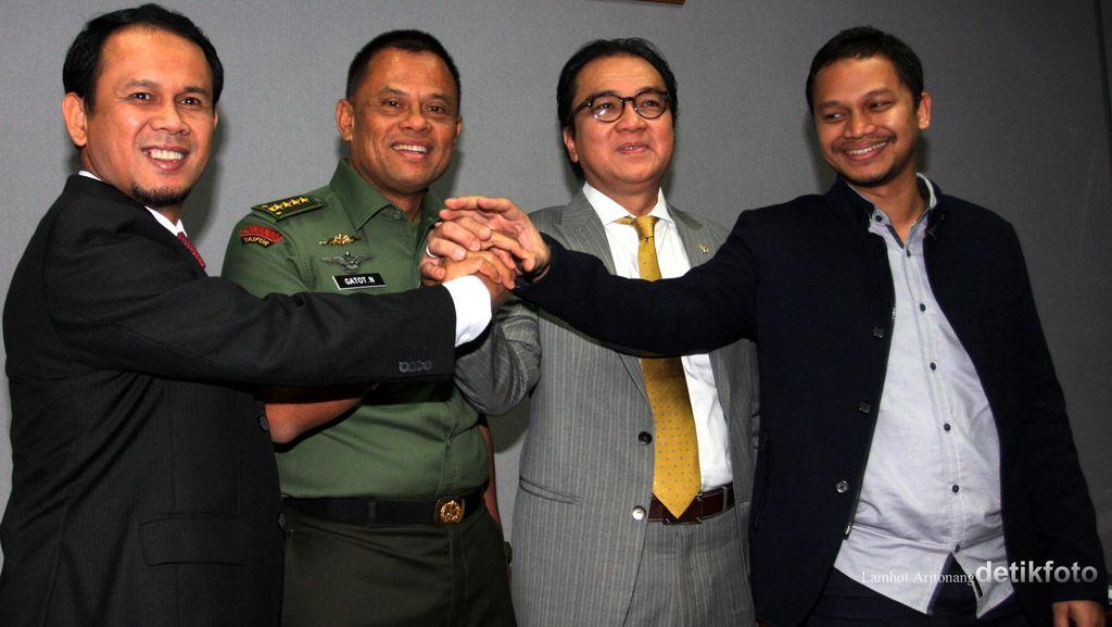 Ini Pandangan 10 Fraksi yang Setuju Jenderal Gatot Jadi Panglima TNI