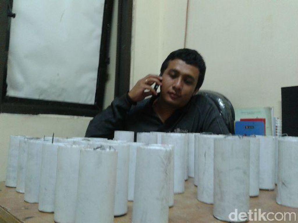 Jualan Petasan via Facebook, Pemuda di Gunungkidul Dibekuk Polisi