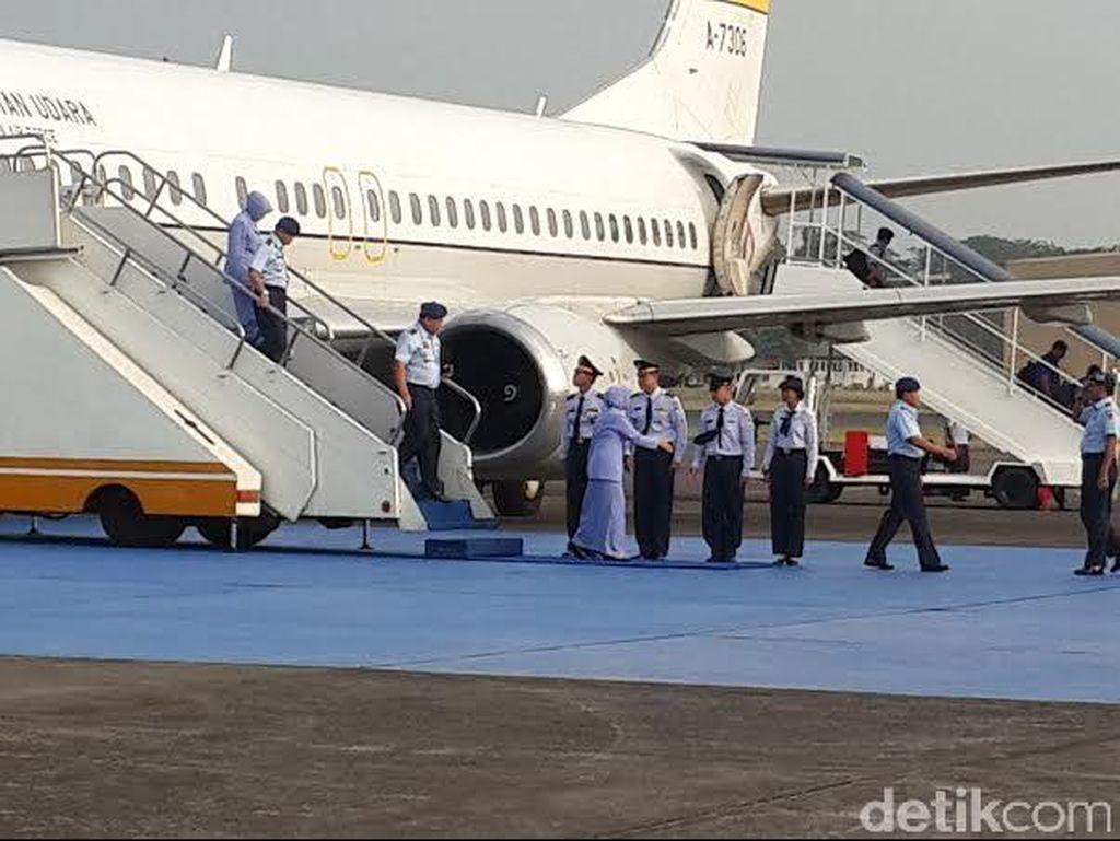 Kembali ke Jakarta, KSAU Bawa 3 Jenazah Korban Hercules