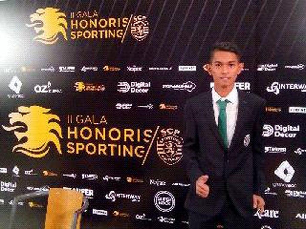 Martunis Hebohkan Stadion Sporting Lisbon di Portugal Saat Hadiri HUT