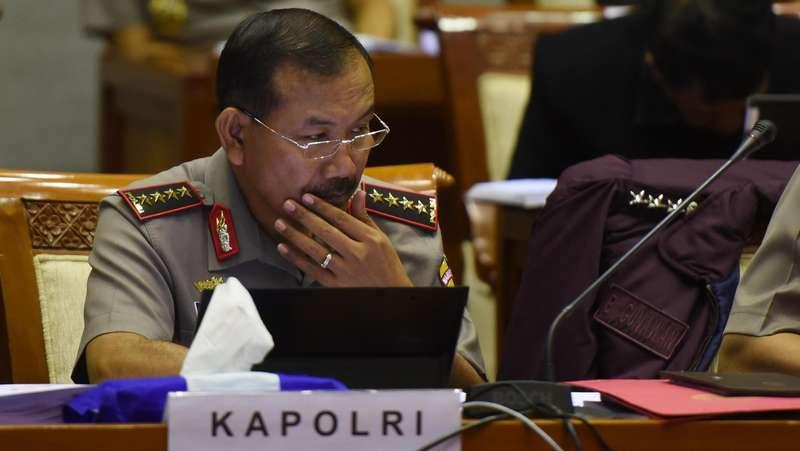 Kapolri Minta Kapolda Metro dan Densus Selidiki Teror ke Penyidik KPK