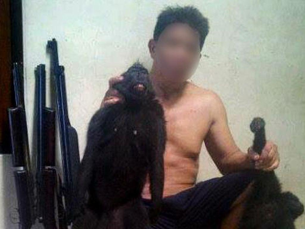Tangkap Monyet Langka Lalu Pajang di Facebook, Profesor Dipolisikan BKSDA
