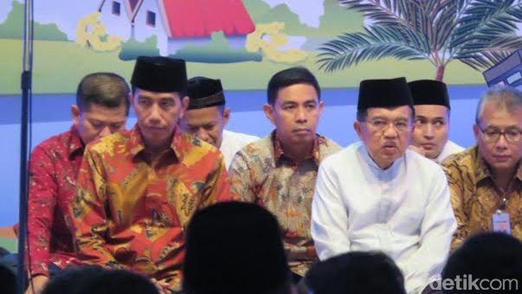 Jokowi-JK Buka Puasa Bersama 3.500 Anak Yatim di JCC Senayan