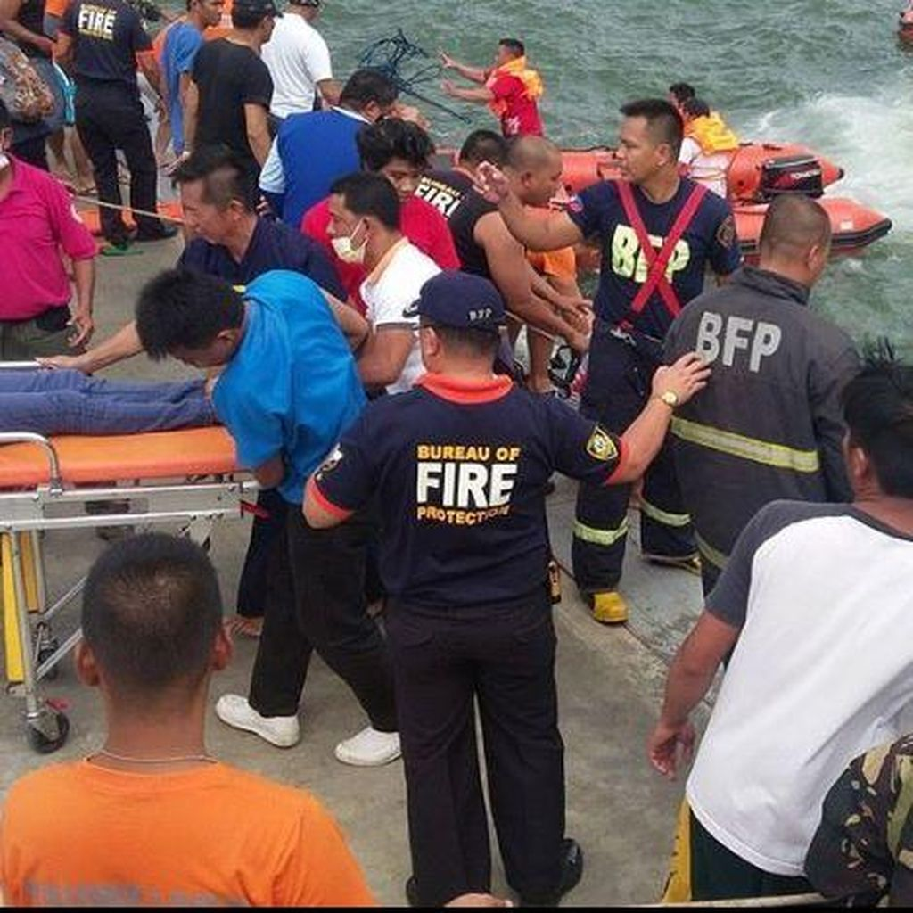 Kapal Feri Karam di Filipina, 127 Orang Selamat dan 36 Tewas