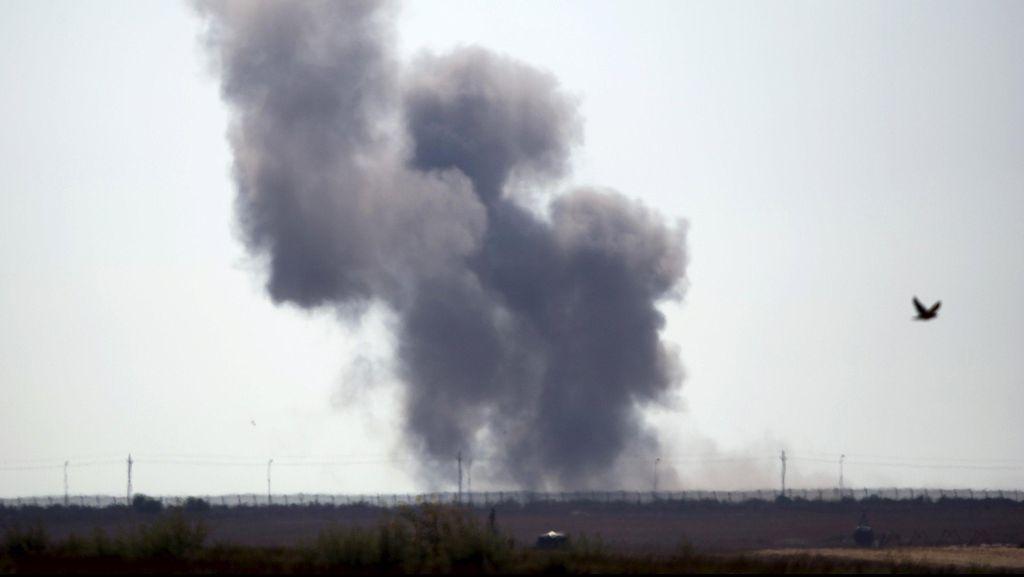 Serangan Udara Israel Tewaskan 5 Orang di Perbatasan Suriah