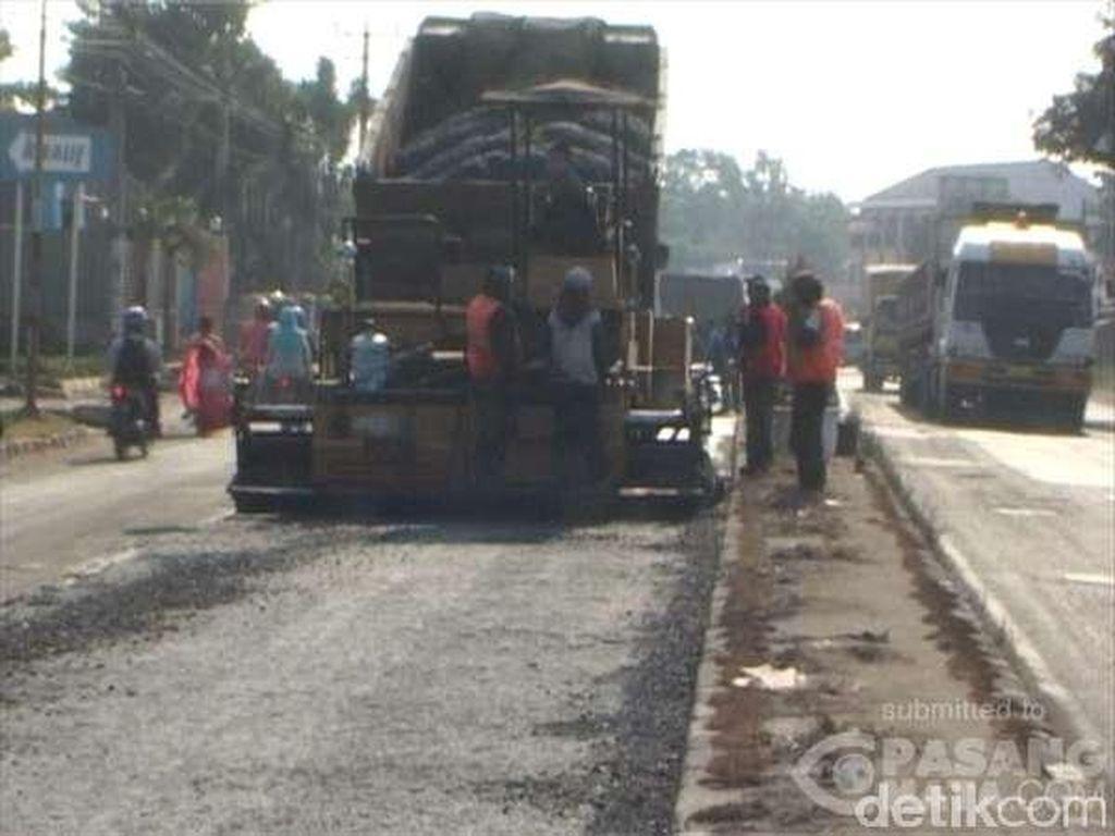 Jelang Arus Mudik 2015, Sejumlah Perbaikan Dilakukan di Jalur Pantura