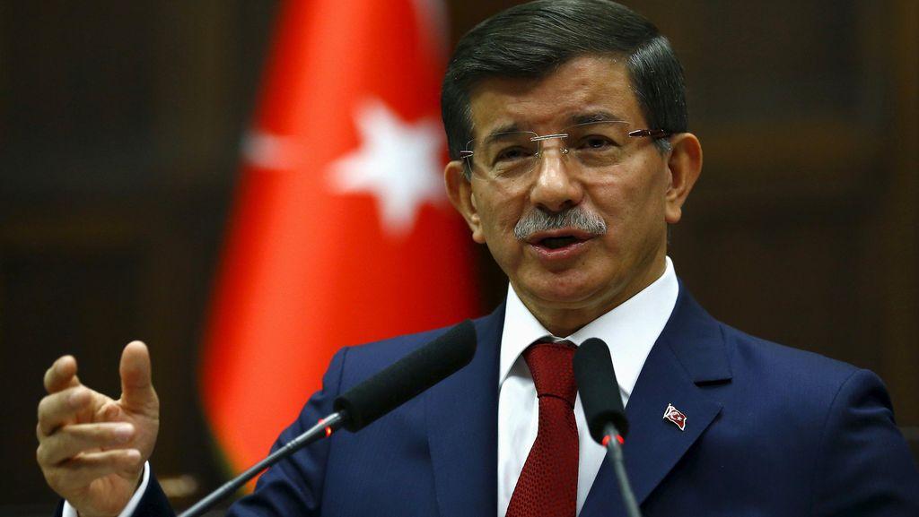 PM Turki Tegaskan Tak Ada Rencana Kerahkan Tentara ke Suriah