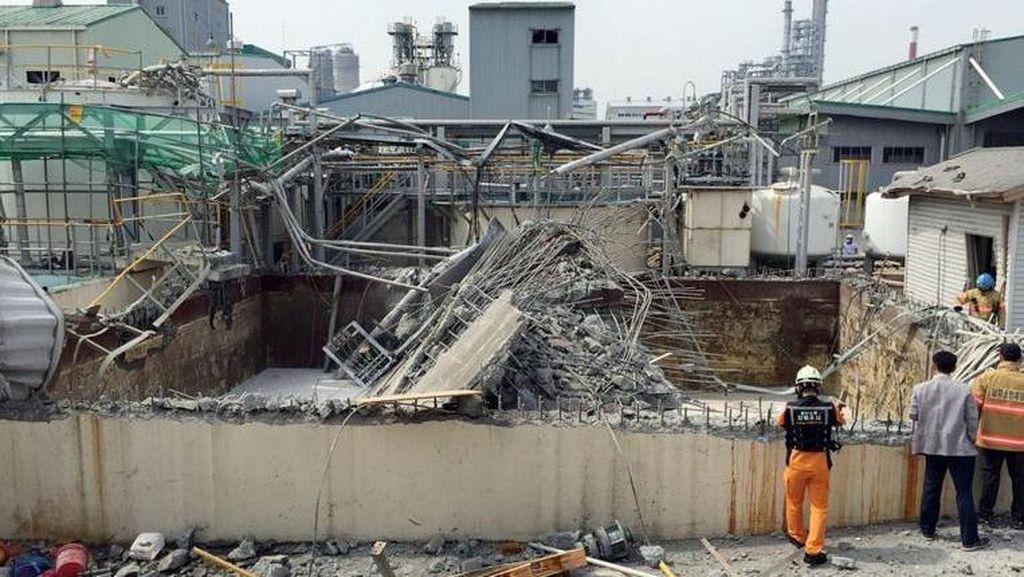 Ledakan Guncang Pabrik Kimia Korsel, 5 Orang Tewas