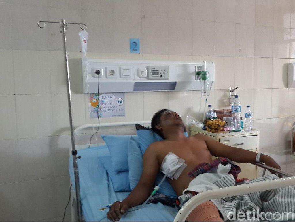 Momen Dramatis Fahri, Pekerja di Lantai 4 yang Selamat dari Hantaman Pesawat