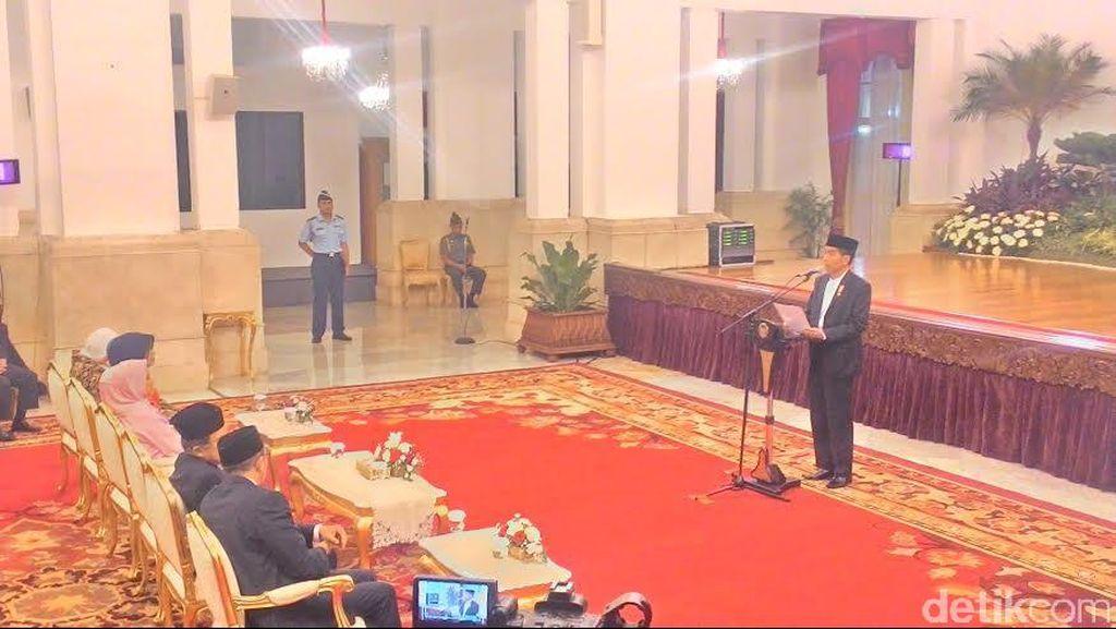 Nuzulul Quran, Jokowi Singgung Soal Penyerapan Anggaran