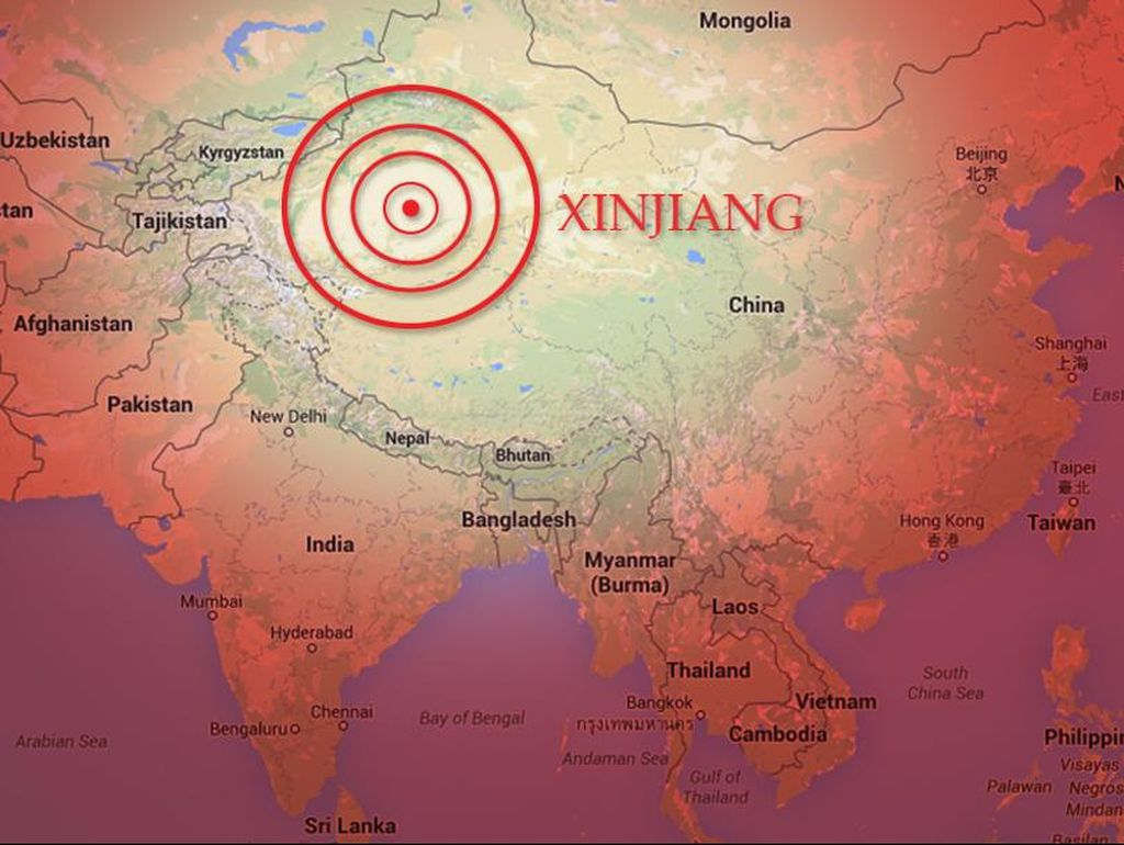 Gempa China Tewaskan 6 Orang, 3 Ribu Rumah Rusak