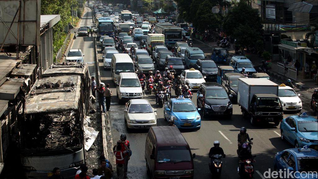 Insiden Terbakarnya Bus TransJ, Bareskrim Akan Turun Tangan?