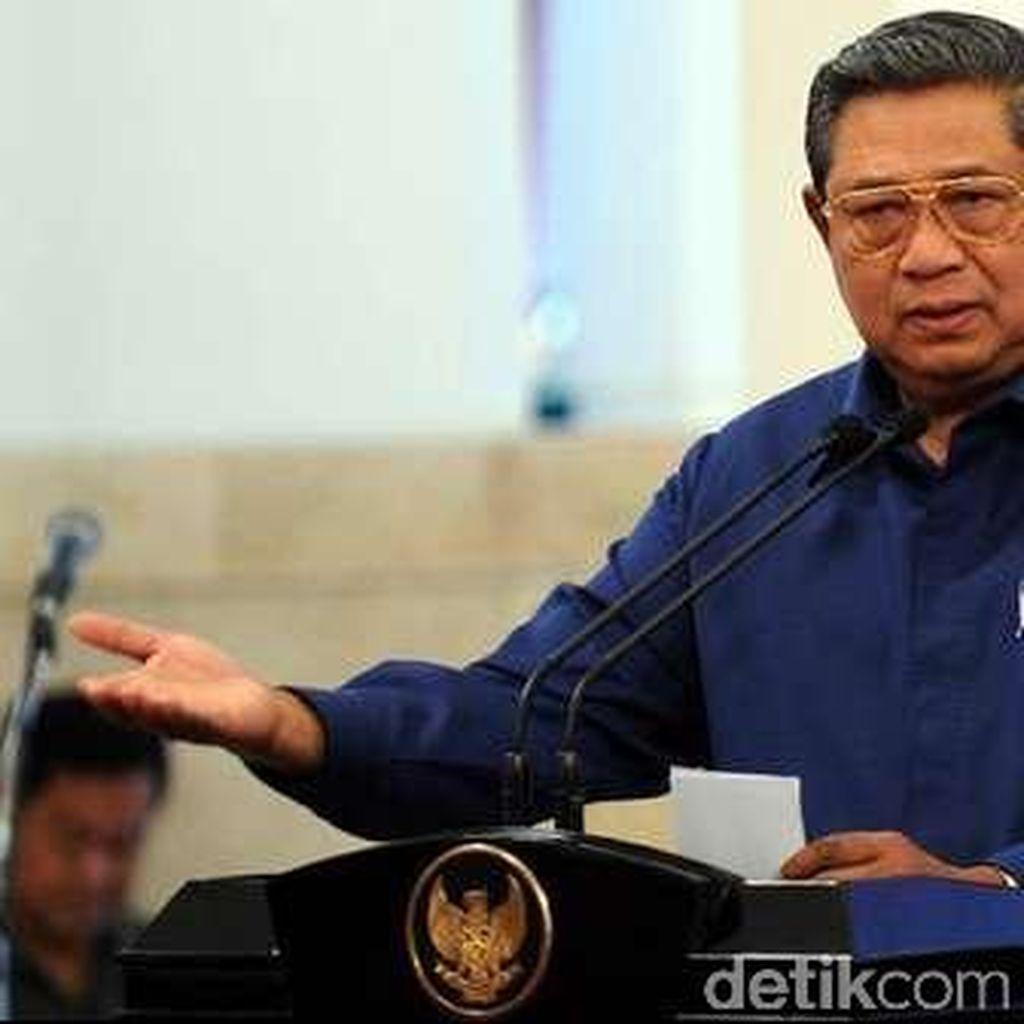 Hadiri Acara Maulid Nabi dengan Warga Aceh, SBY Pamitan