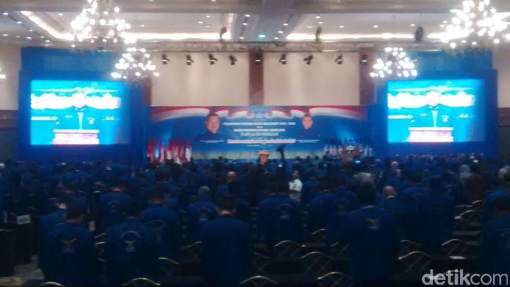 SBY Buka Rapimnas PD di JCC