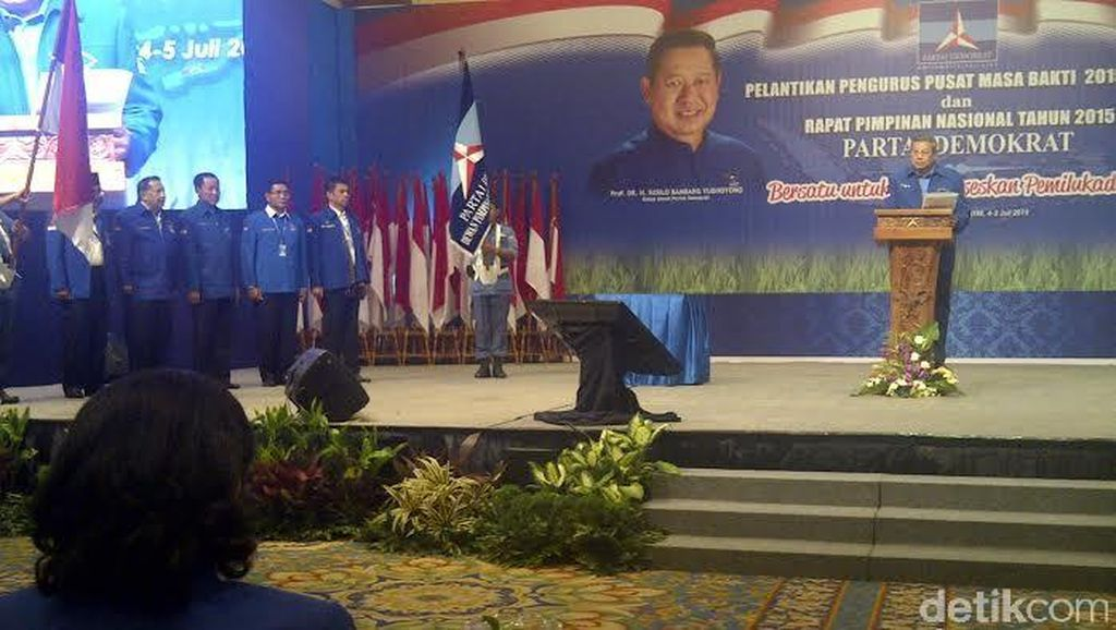SBY Ajak Kader PD Ulangi Kejayaan Seperti di Pemilu 2004