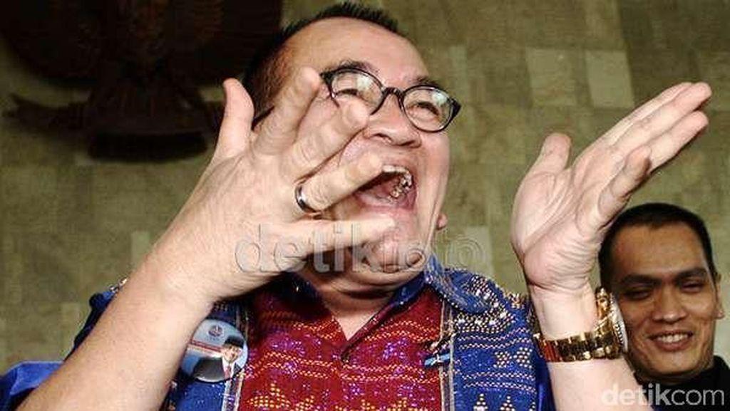 Ruhut: SBY dan Keluarga Cikeas Sayang Aku, Mereka Back-up Abis