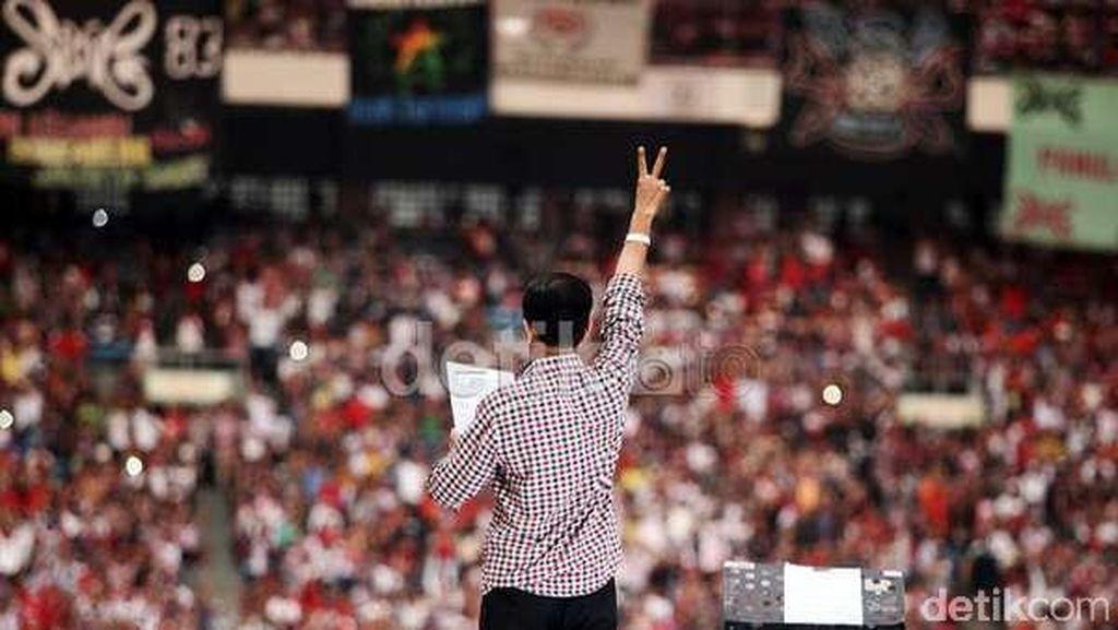 Setahun Konser Salam Dua Jari, Relawan Ingatkan Janji Kampanye Jokowi