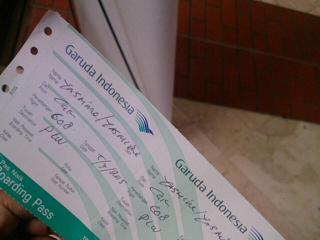 Check In Domestik Garuda Manual, Sejumlah Penerbangan Digabungkan