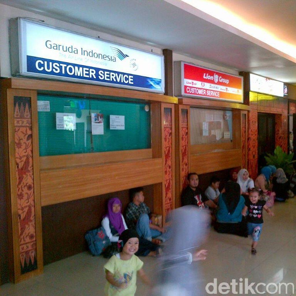 Gate Internasional Bandara Semarang Dibuka untuk Urai Penumpukan Penumpang Garuda