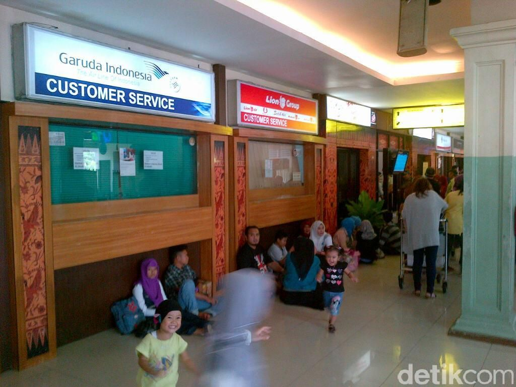 Garuda Permudah Penumpang yang Terkena Delay di Bandara Semarang
