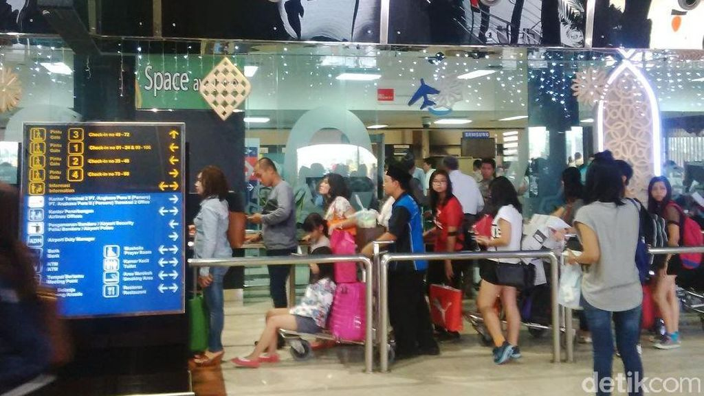 AP II: Ada Calo Kios dan Lounge di Bandara Soekarno-Hatta